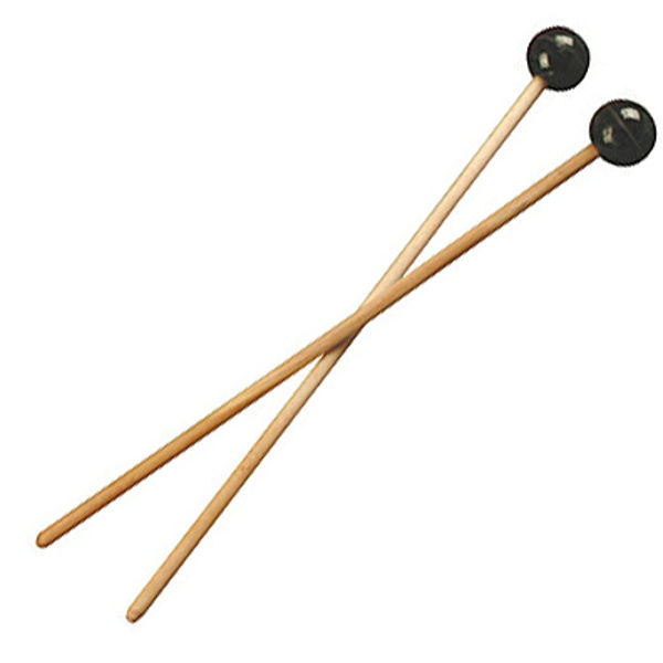 Boomwhackers Køller, BW-ML1G, Wooden Mallets, Wood Handle w/Rubber Heads, par