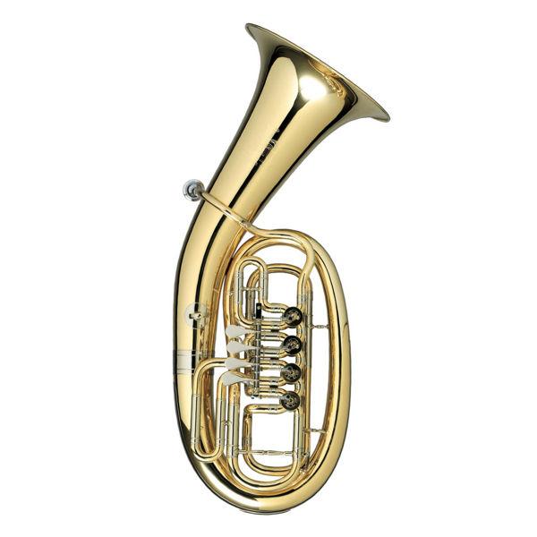 Baritone Melton Ovale Horn MWB34 Meisterwerk, Silver plated