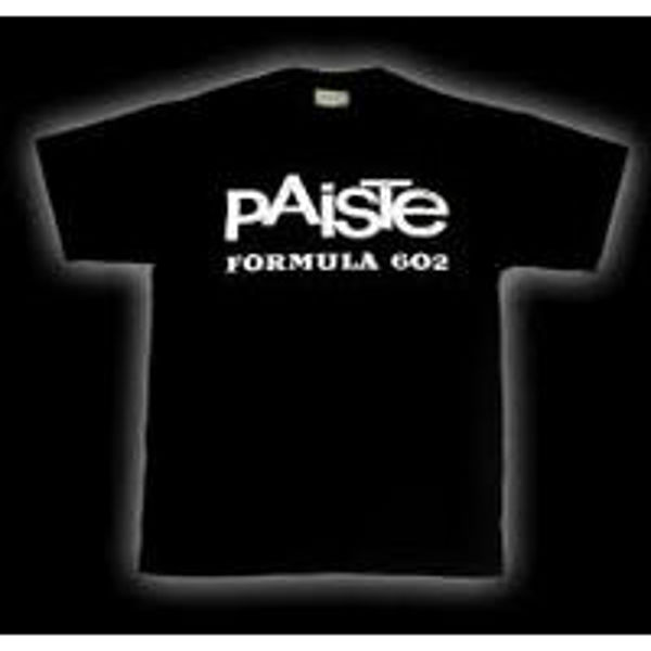 T-Shirt Paiste Formula 602, Black, Small
