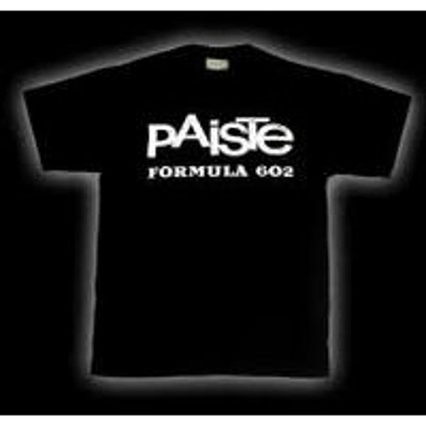 T-Shirt Paiste Formula 602, Black, Medium