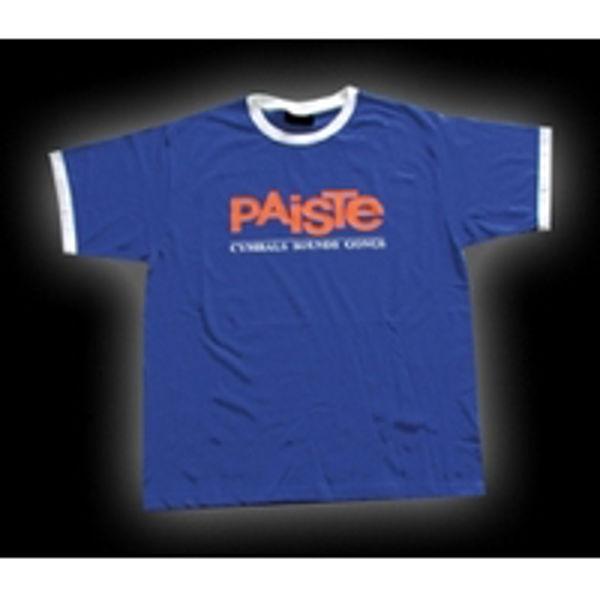 T-Shirt Paiste Vintage Blue, Blue, Large