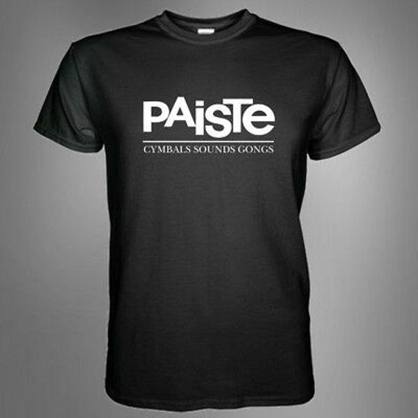 T-Shirt Paiste, Black, Medium