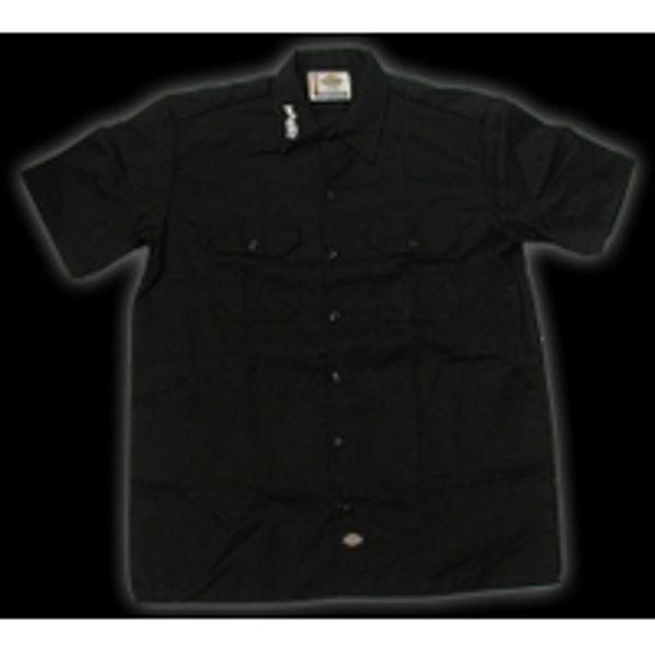 T-Shirt Paiste Work Shirt, Embroded, Black, Medium