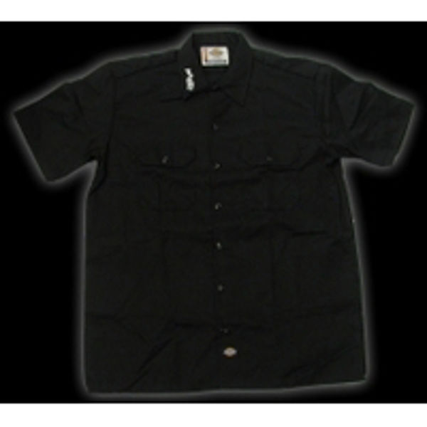 T-Shirt Paiste Work Shirt, Embroded, Black, Large