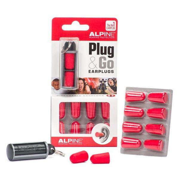 Ørepropper Alpine Plug & GO 5x2