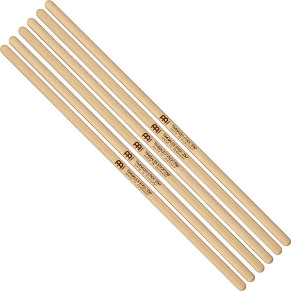 Timbalestikker Meinl Timbale Sticks SB127-3, 7/16 Light, Hickory, 3 par