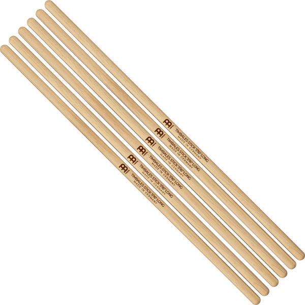 Timbalestikker Meinl Timbale Sticks SB128-3, 7/16 Long, Hickory, 3 par