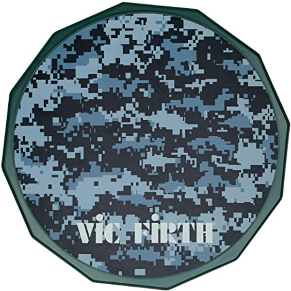 Trommepad Vic Firth VXPPDC06, Gummi 6, 8mm Gjenger, Camo
