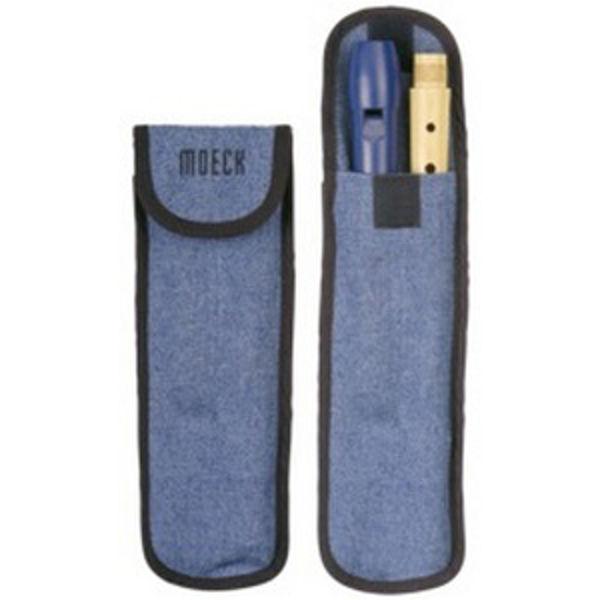Etui Blokkfløyte Sopran Jeans Cover (for 1021-1023-1024) Moeck