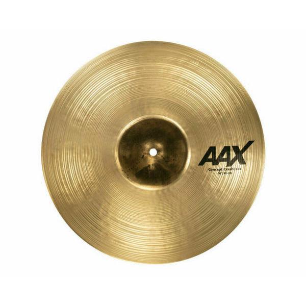 Cymbal Sabian AAX Crash, Concept 16, Brilliant