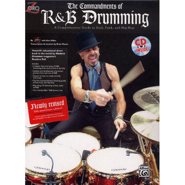 The Commandments Of R&B Drumming, Zoro m/CD