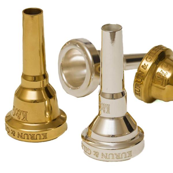 Munnstykke Trombone K&G T4.5B Large Silver