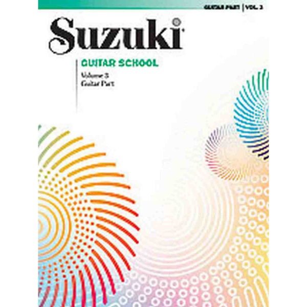 Suzuki Guitar School vol 3 Book