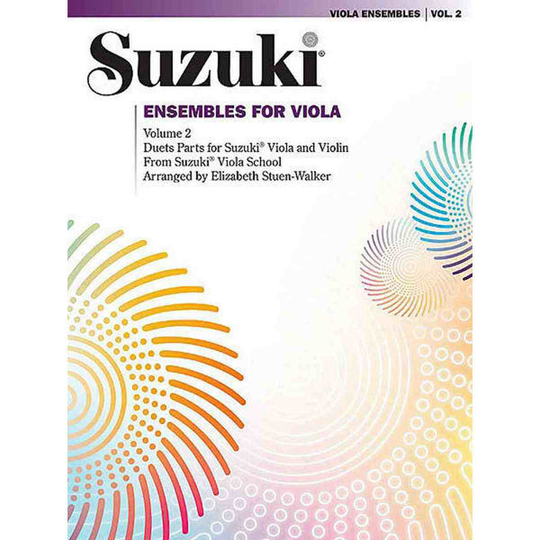 Suzuki Ensembles Viola vol 2