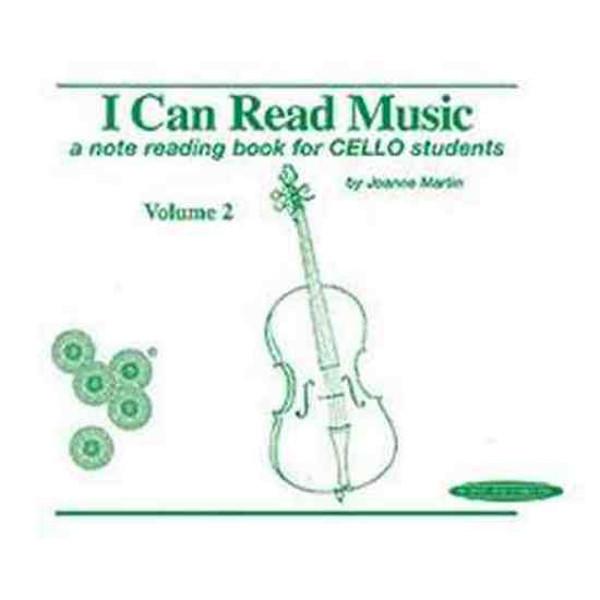 I can read music Cello vol 2, Johanne Martin