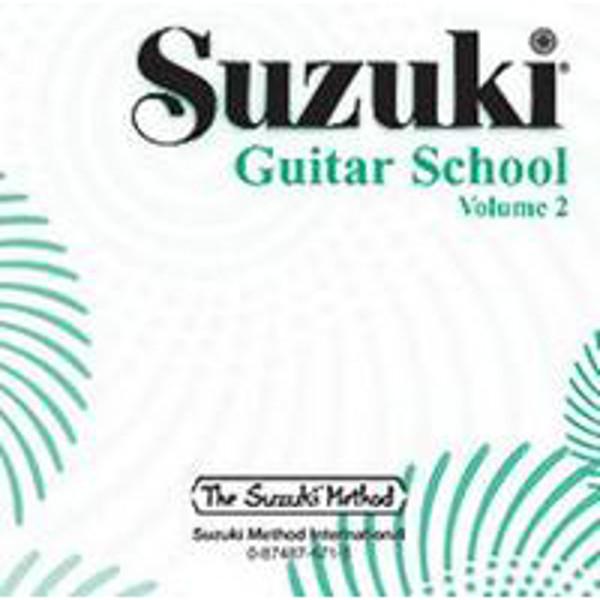 Suzuki Guitar School vol 2 CD
