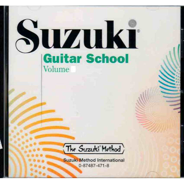 Suzuki Guitar School vol 3 CD