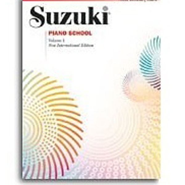 Suzuki Piano School vol 1 Book