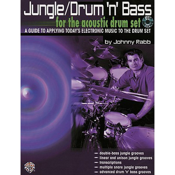 Jungle/Drum`N`Bass, Acoustic Drumset, Johnny Rabb