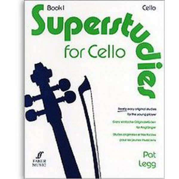 Superstudies Cello vol 1, Pat Legg
