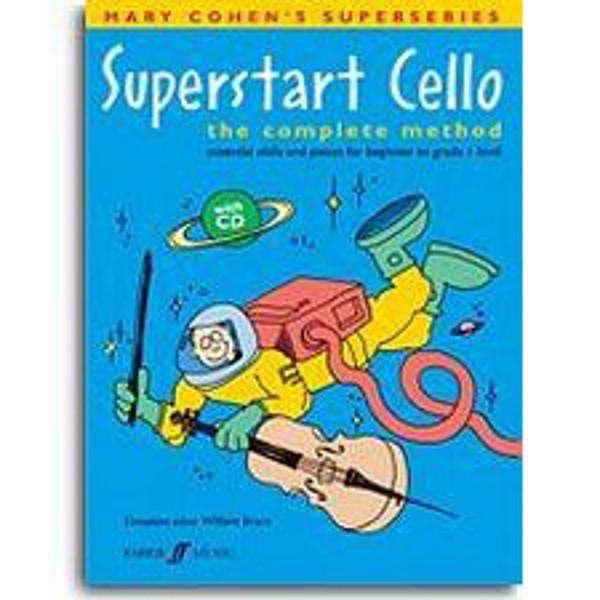 Superstart Cello vol 1 - Mary Cohen m/cd