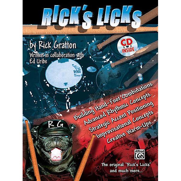 Ricks Licks, Rick Gratton. Drum Kit