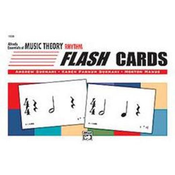 Essentials of Music Theory Flash Cards Rhythm