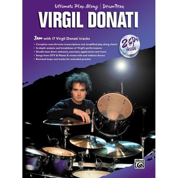 Virgil Donati, Ultimate Play Along m/2 CDer