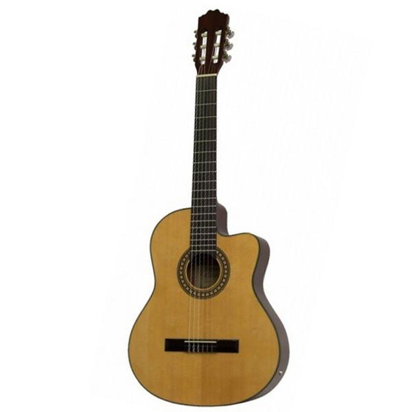 Gitar Klassisk Cataluna SGN-CS20 Innebygd Mikrofon Natur