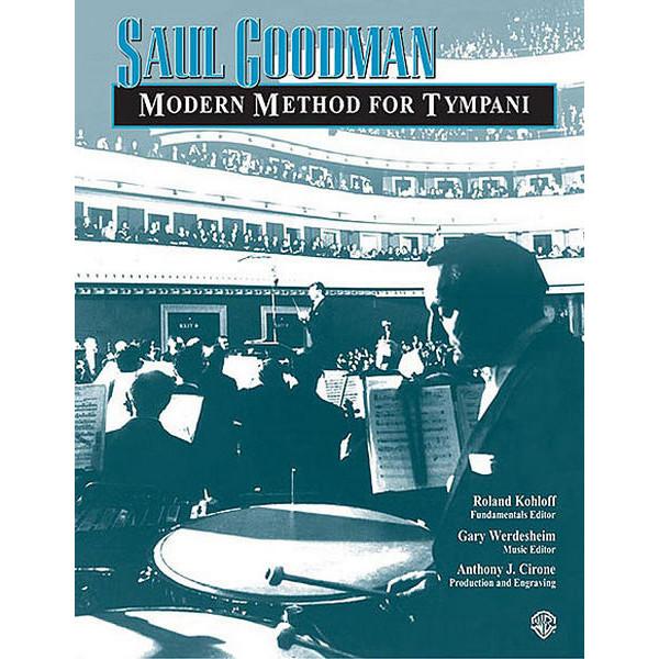 Modern Method For Timpani, Saul Goodman