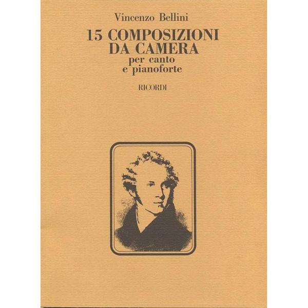 15 Composizioni Da Camera - V.Bellini - Voice and Piano