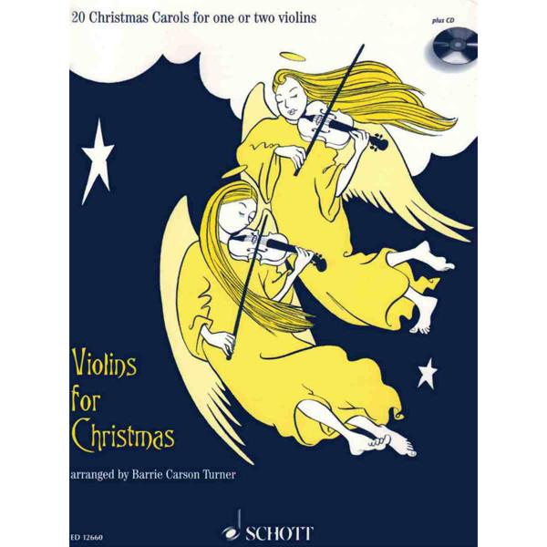 Violins for christmas m/cd