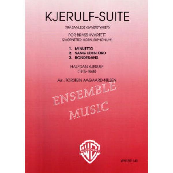 Kjerulf Suite Brasskvartett - Halvdan Kjerulf arr Torstein Aagaard-Nilsen