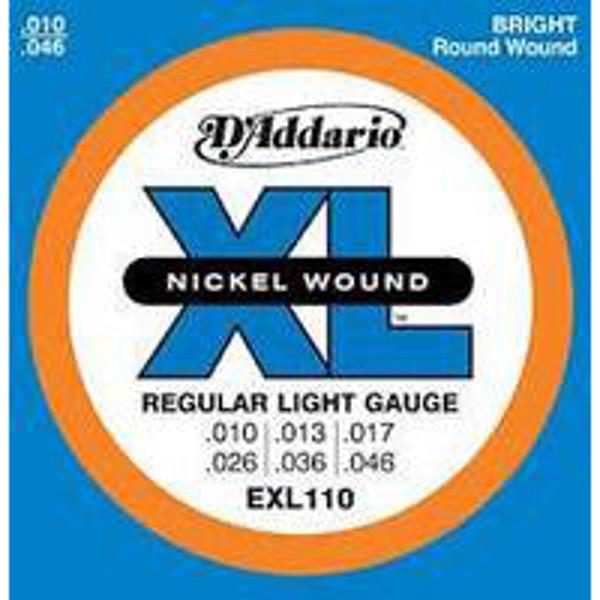 Gitarstrenger Elektrisk  D'Addario EXL110