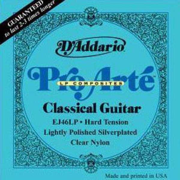 Gitarstrenger Nylon Pro Arte EJ46LP (Lightly Polished Silverplated)