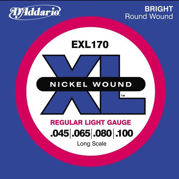 Bassgitarstrenger elektrisk D'Addario EXL 170 Regular Light
