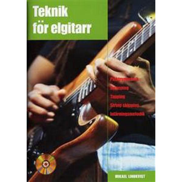 Teknik för elgitar m/cd