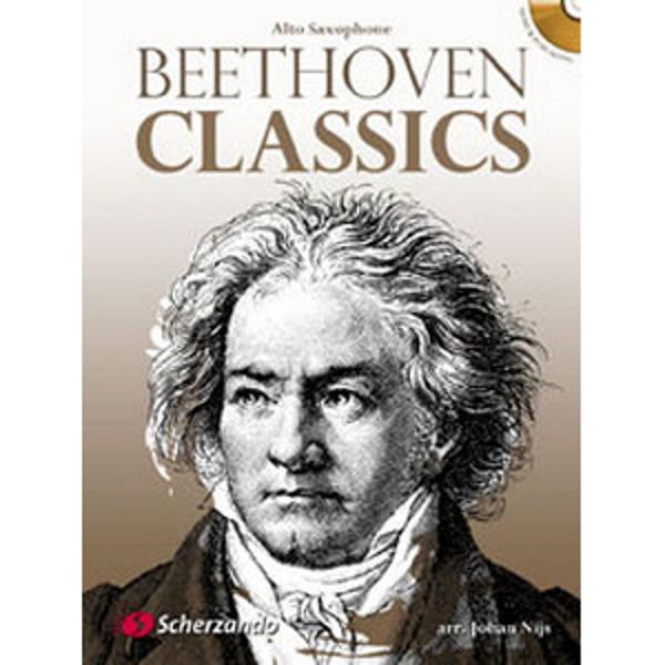 Beethoven classics - Alto Saxophone m/cd