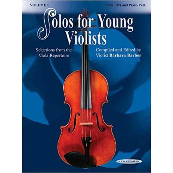 Solos for Young Violists 1 (Viola/Piano)