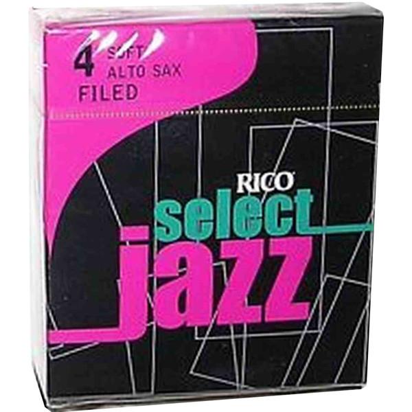 Altsaksofonrør Rico Jazz 4 (10 pk)