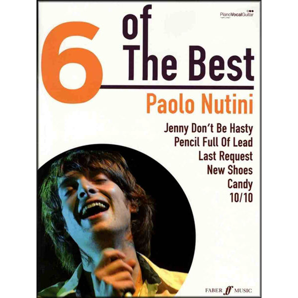 6 of The Best - Paolo Nutini - Piano/Vokal/Gitar