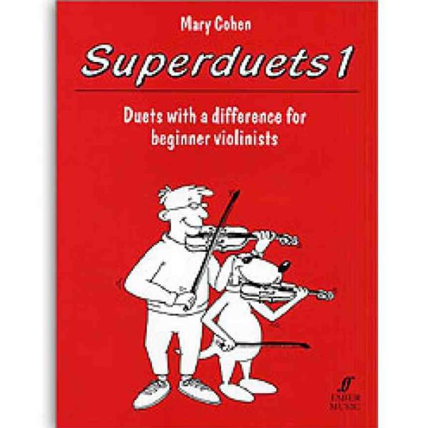 Superduets violin book 1 - Mary Cohen
