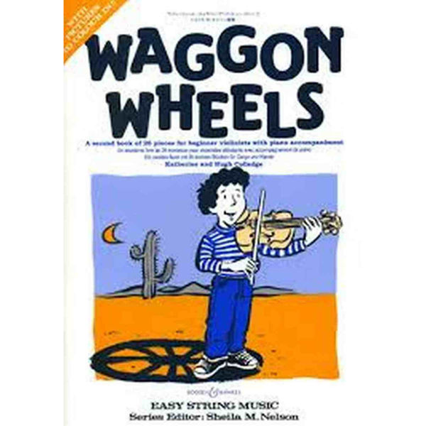 Waggon wheels violin Book 2  m/piano akk. - Colledge