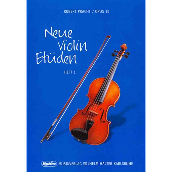 Neue Violin Etüden Op 15 Hefte 1 - Robert Pracht