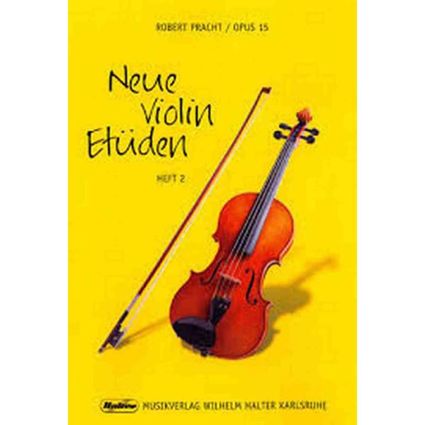 Neue Violin Etüden Op 15 Hefte 2 - Robert Pracht
