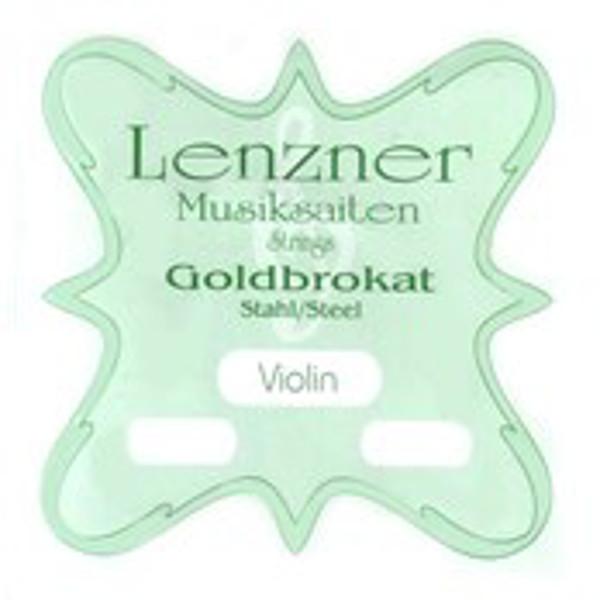 Fiolinstreng Lenzner Goldbrokat steel 0,27 1E m/slynge