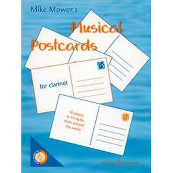 Musical Postcards for  Clarinet m/cd