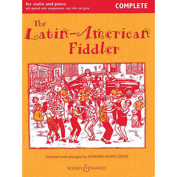 The Latin-American Fiddler - Edward Huws Jones, Violin and Piano