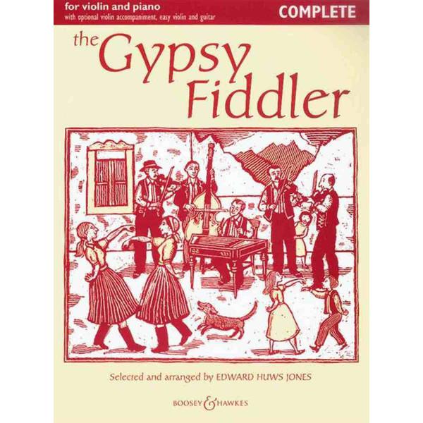 The Gypsy Fiddler - Edward Huws Jones