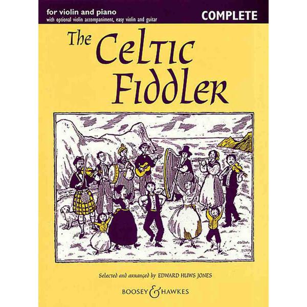 The Celtic Fiddler -  Edward Huws Jones